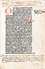 Anthony Andraes, Scriptum Super Logica, St Albans, 1483 (printed by Wynkyn de Worde, William Caxton's first apprentice)